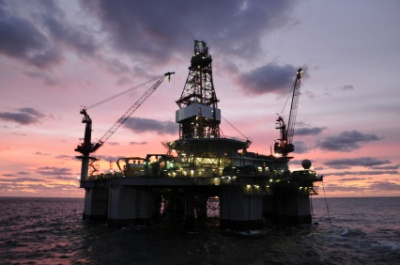 Deep Water Oil Rig
